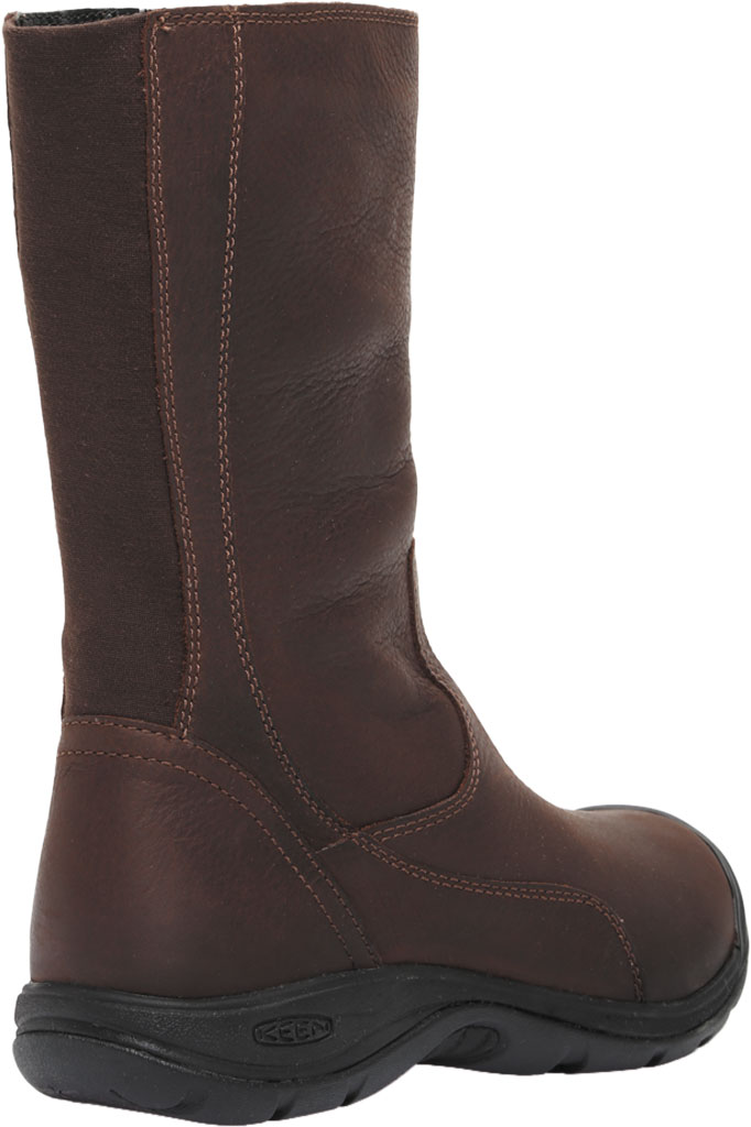 Women's KEEN Presidio II Tall Boot, Chestnut/Mulch, large, image 4