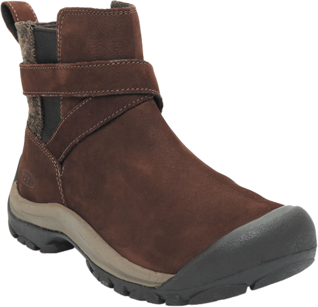 Women's Keen Kaci II Winter Pull On Boot, Chestnut/Canteen, large, image 1