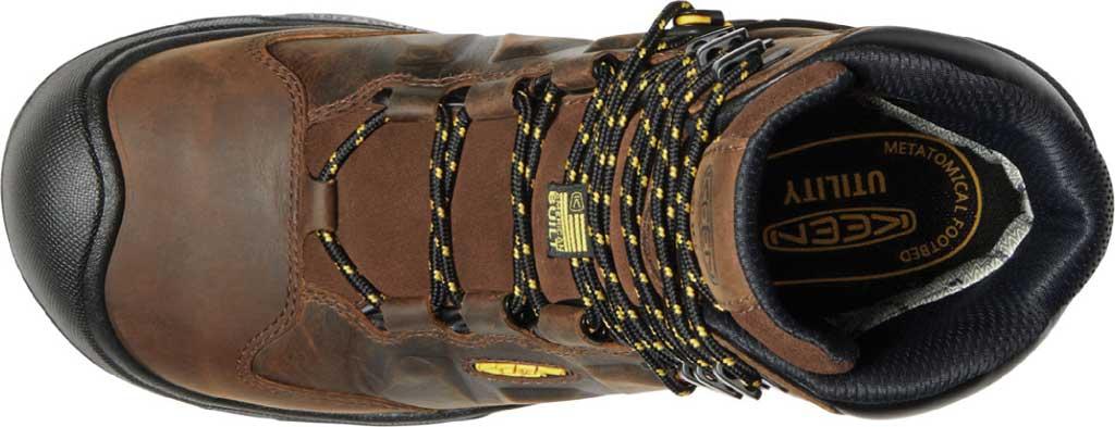 "Men's KEEN Utility Dover 8"" 600G Waterproof Work Boot, Dark Earth/Black Leather, large, image 3"