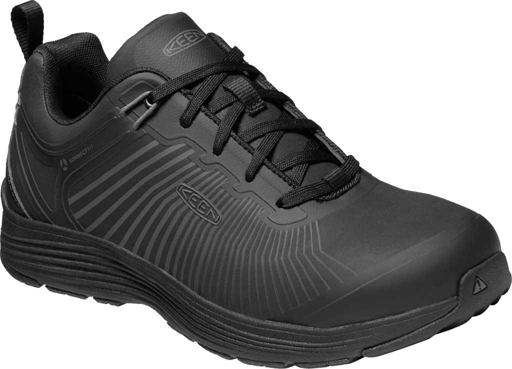 Men's KEEN Utility Sparta XT Aluminum Toe Work Boot, Black/Black Synthetic, large, image 1