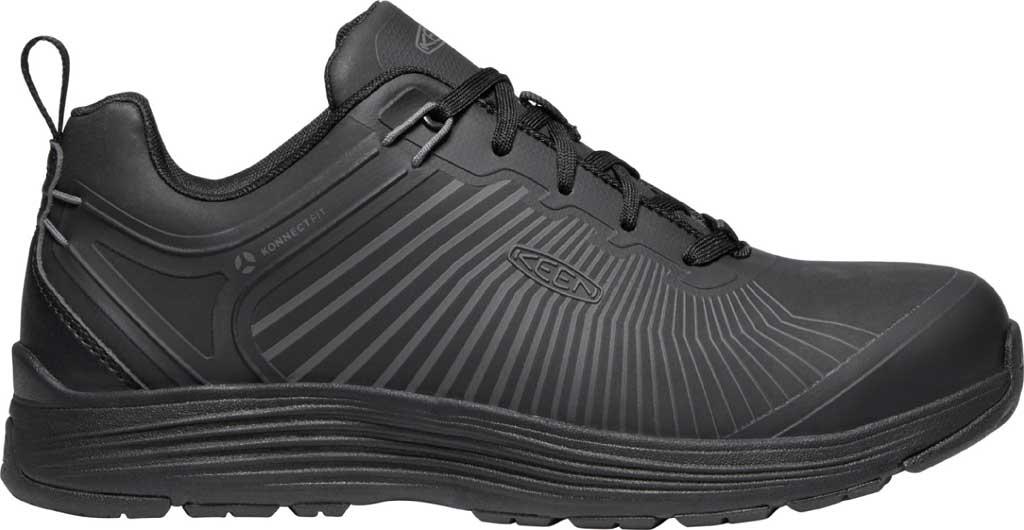 Men's KEEN Utility Sparta XT Aluminum Toe Work Boot, Black/Black Synthetic, large, image 2