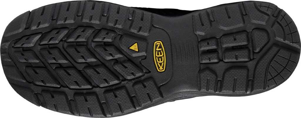 Men's KEEN Utility Sparta XT Aluminum Toe Work Boot, Black/Black Synthetic, large, image 4