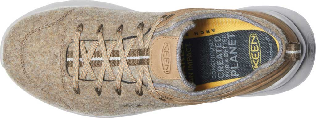 Men's KEEN Highland Arway Sneaker, Taupe/Plaza Taupe, large, image 3