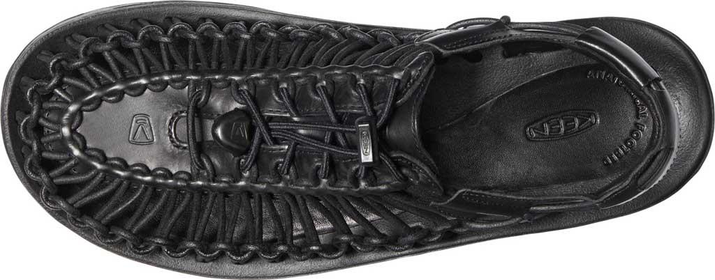 Men's Keen Uneek Closed Toe Sandal, Black, large, image 3