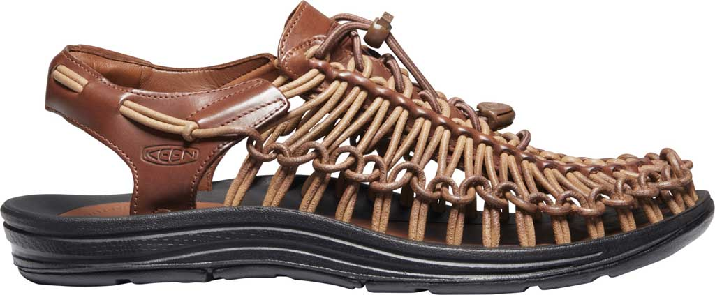 Men's Keen Uneek Closed Toe Sandal, Brown, large, image 2