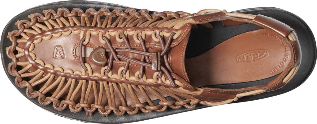 Men's Keen Uneek Closed Toe Sandal, Brown, large, image 3