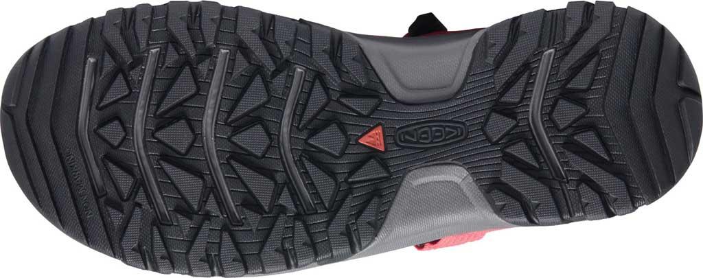Men's Keen Targhee III H2 Waterproof Hiking Sandal, Red/Black, large, image 4