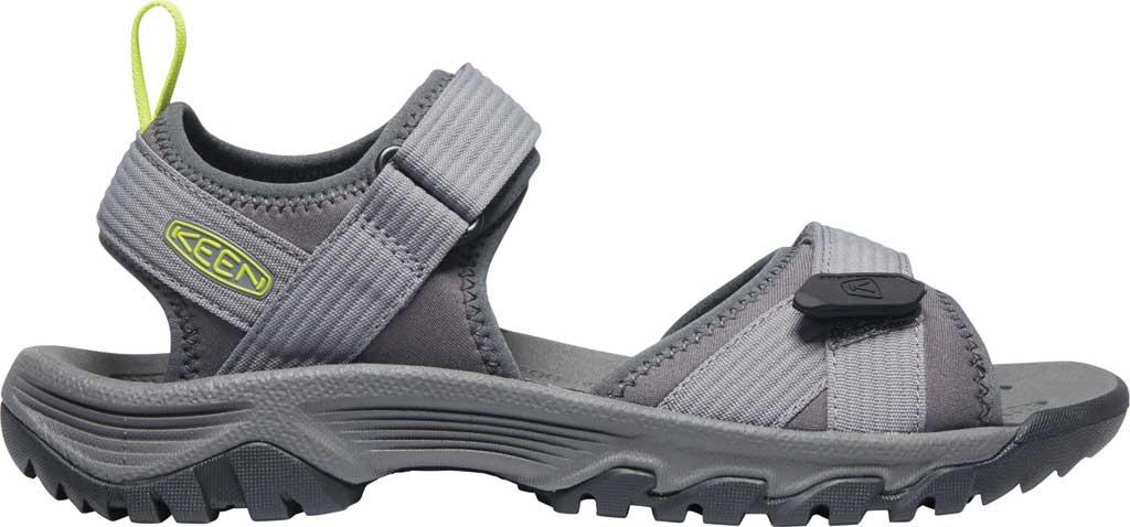 Men's Keen Targhee III H2 Waterproof Hiking Sandal, Steel Grey/Evening Primrose, large, image 2