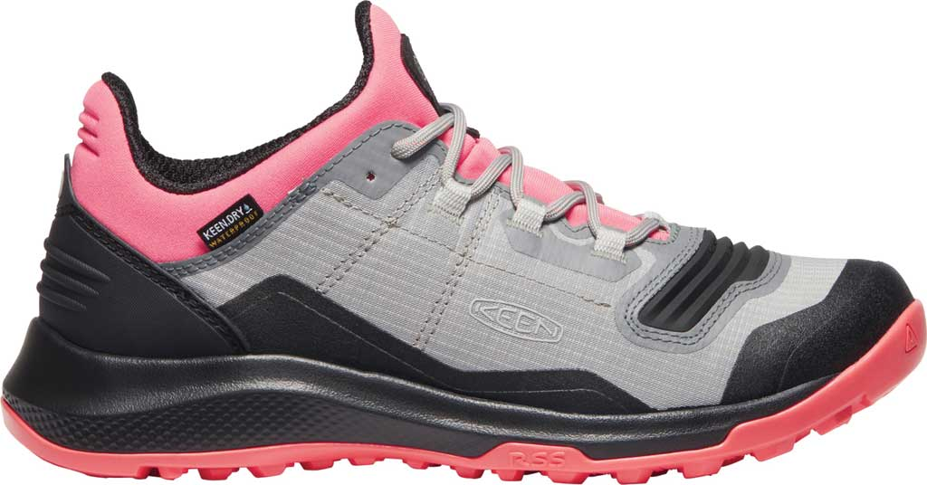 Women's Keen Tempo Flex Waterproof Hiking Sneaker, Dubarry/Black, large, image 2