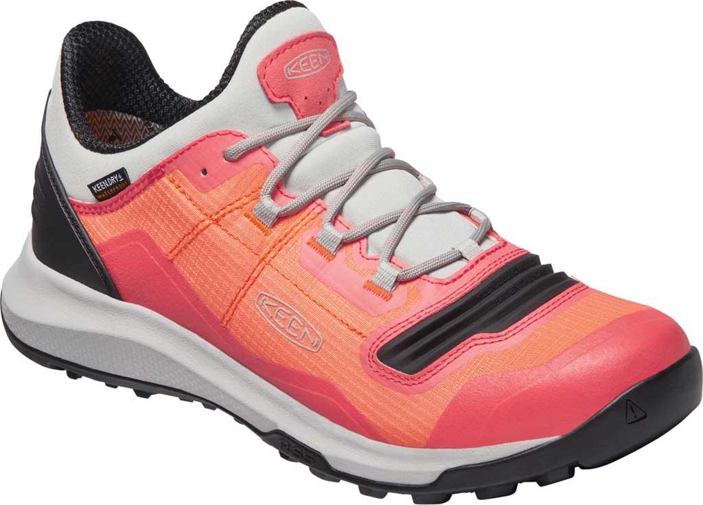 Women's Keen Tempo Flex Waterproof Hiking Sneaker, Nectarine/Dubarry, large, image 1
