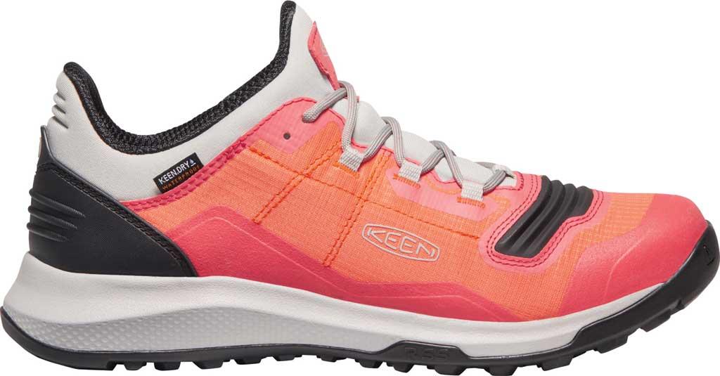 Women's Keen Tempo Flex Waterproof Hiking Sneaker, Nectarine/Dubarry, large, image 2