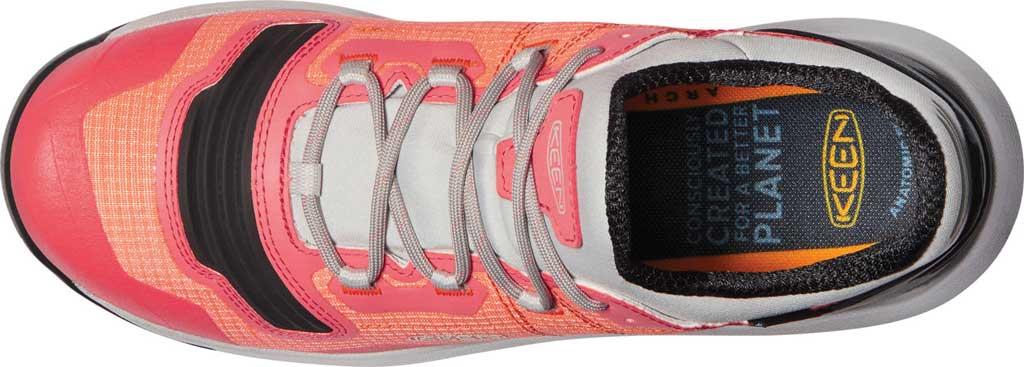 Women's Keen Tempo Flex Waterproof Hiking Sneaker, Nectarine/Dubarry, large, image 3