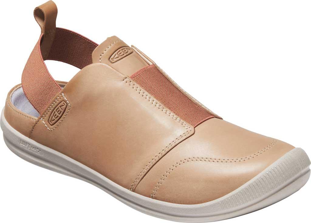 Women's Keen Lorelai II Slip On Sneaker, Tan/Brick Dust, large, image 1