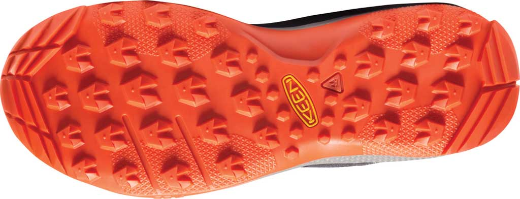 Men's Keen Tempo Flex Mid Waterproof Hiking Boot, Black Iris/Orange, large, image 4