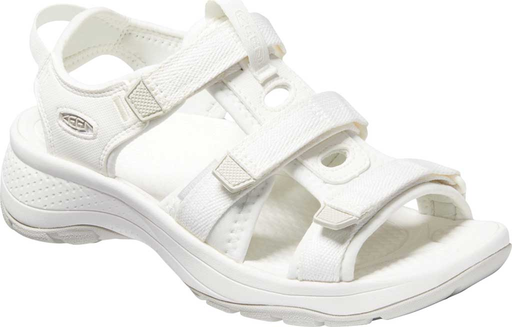 Women's Keen Astoria West Active Sandal, White, large, image 1