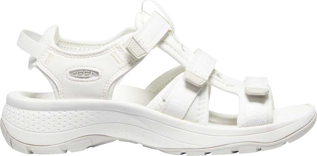 Women's Keen Astoria West Active Sandal, White, large, image 2