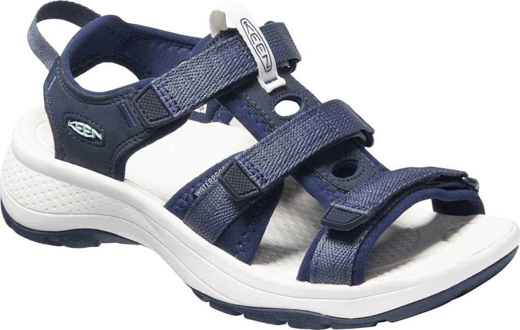 Women's Keen Astoria West Active Sandal, Blue Nights/Black Iris, large, image 1