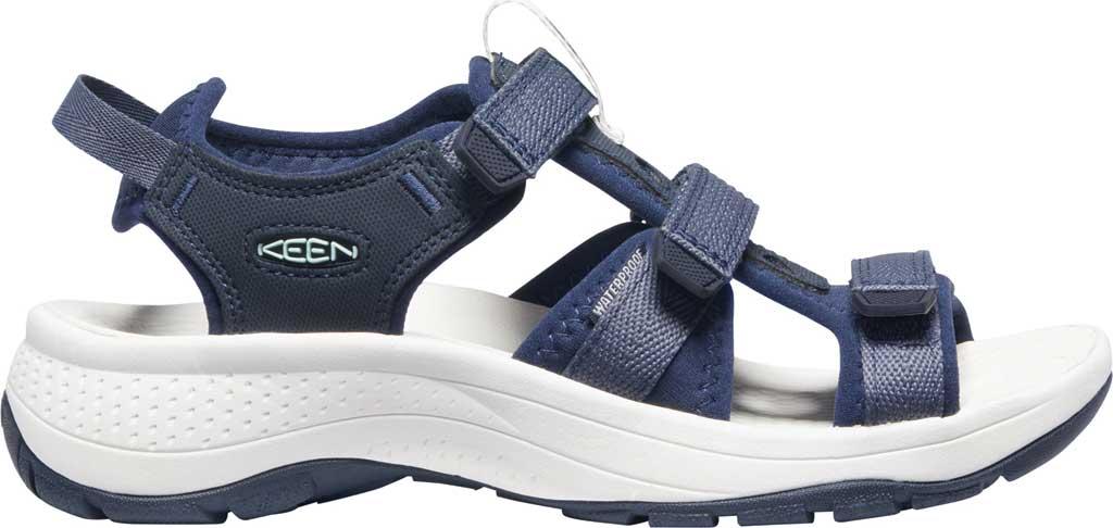 Women's Keen Astoria West Active Sandal, Blue Nights/Black Iris, large, image 2