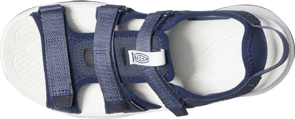 Women's Keen Astoria West Active Sandal, Blue Nights/Black Iris, large, image 3