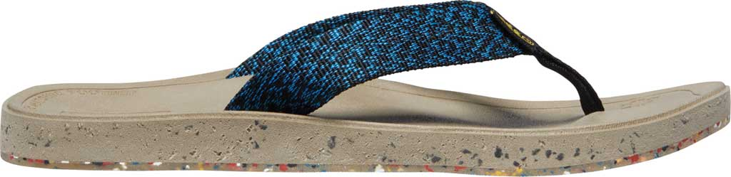 Men's Keen Harvest Flip Flop, Black/Multicolor, large, image 2