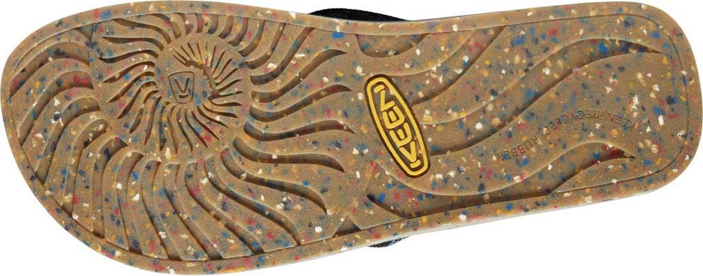 Men's Keen Harvest Flip Flop, Black/Multicolor, large, image 4