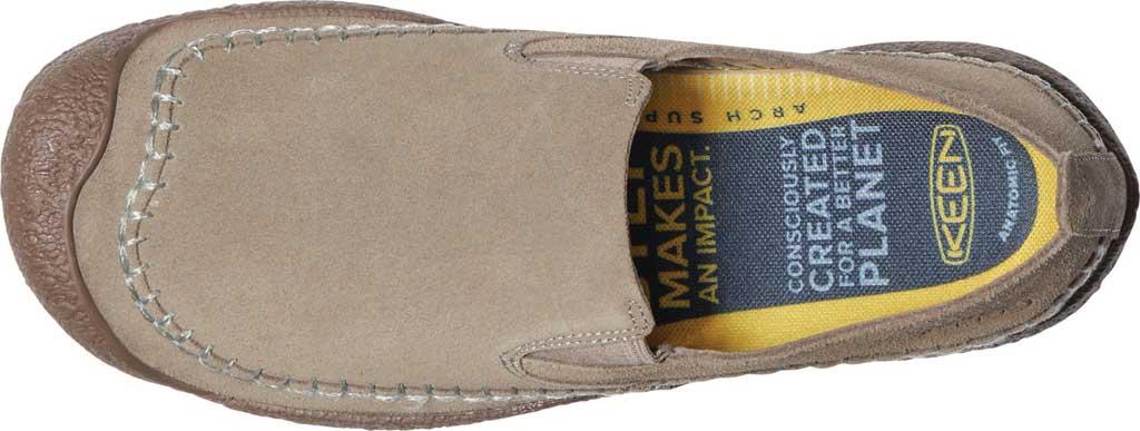 Men's Keen Howser Slip-On Oxford, Timberwolf/Chestnut, large, image 3