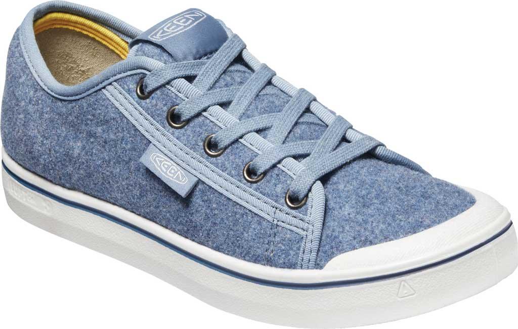 Women's Keen Elsa Lite Sneaker, Blue Felt/Vapor, large, image 1