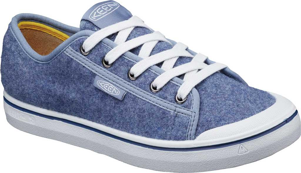 Women's Keen Elsa Lite Sneaker, Blue Felt/Vapor, large, image 2