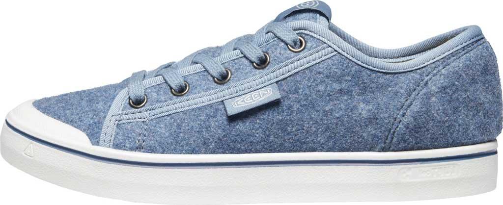 Women's Keen Elsa Lite Sneaker, Blue Felt/Vapor, large, image 3