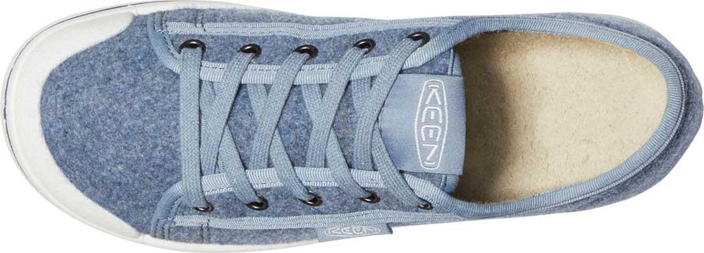 Women's Keen Elsa Lite Sneaker, Blue Felt/Vapor, large, image 4