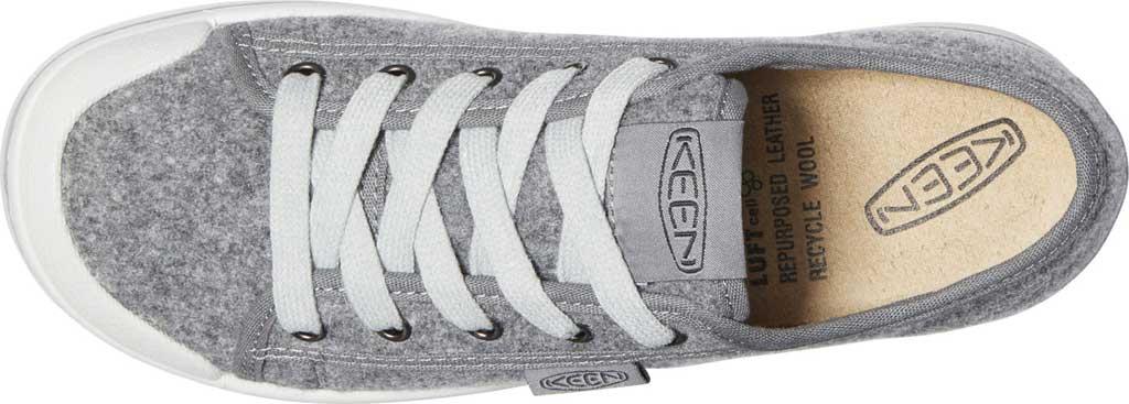 Women's Keen Elsa Lite Sneaker, Grey Felt/Raven, large, image 4