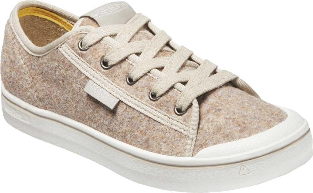 Women's Keen Elsa Lite Sneaker, Taupe Felt/Silver Birch, large, image 1