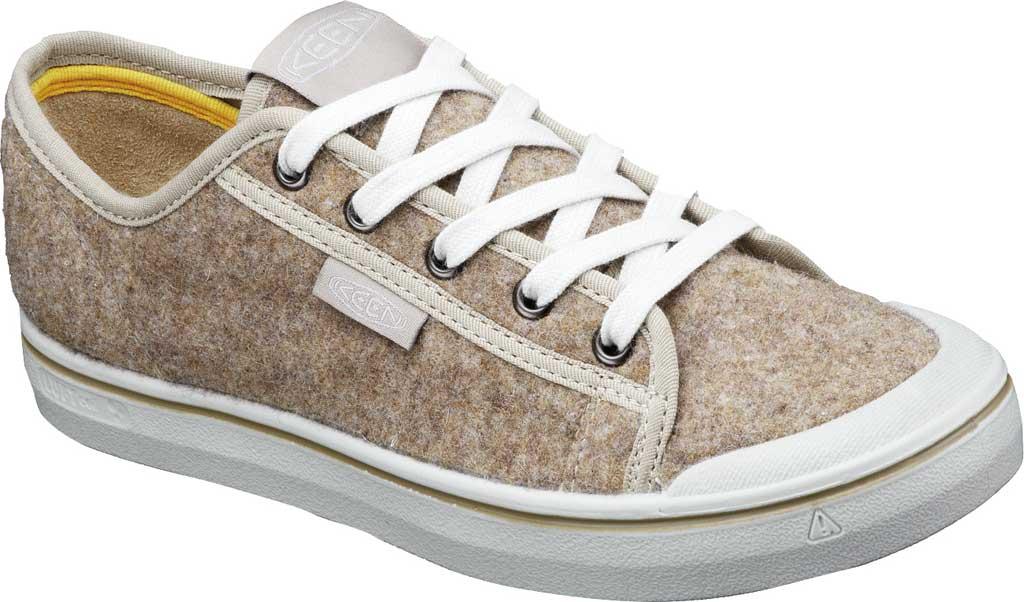 Women's Keen Elsa Lite Sneaker, Taupe Felt/Silver Birch, large, image 2