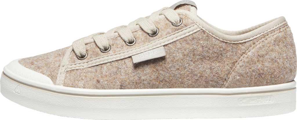 Women's Keen Elsa Lite Sneaker, Taupe Felt/Silver Birch, large, image 3