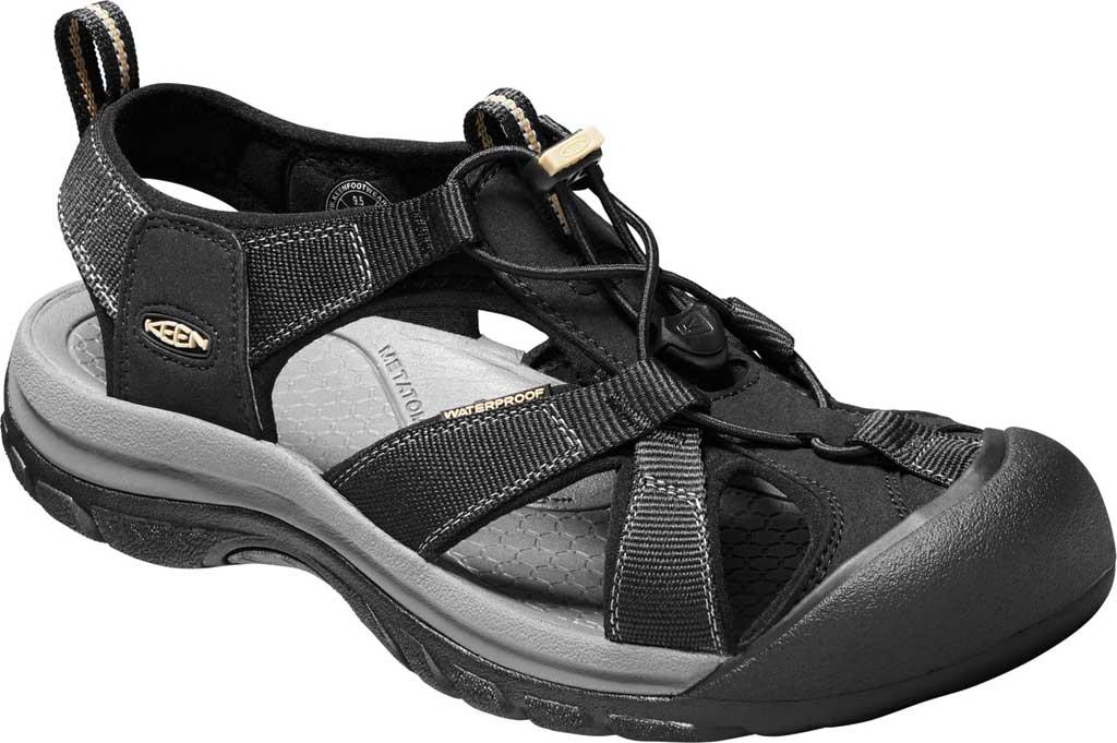 Men's Keen Venice H2 Hiking Sandal, Black, large, image 1