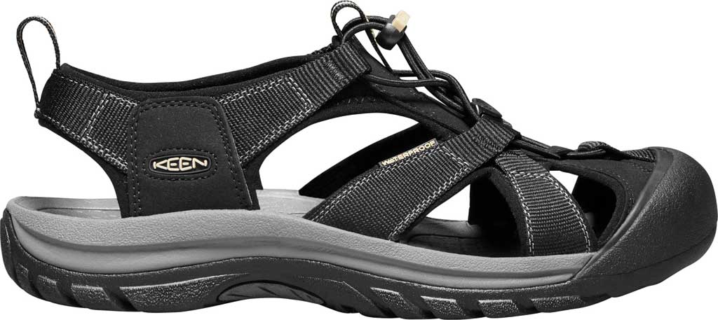 Men's Keen Venice H2 Hiking Sandal, Black, large, image 2