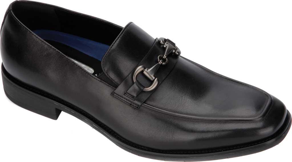 Men's Kenneth Cole Reaction Relay Flex Bit Loafer, Black Leather, large, image 1