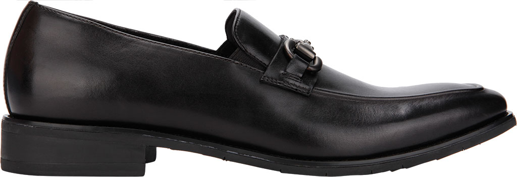 Men's Kenneth Cole Reaction Relay Flex Bit Loafer, Black Leather, large, image 2