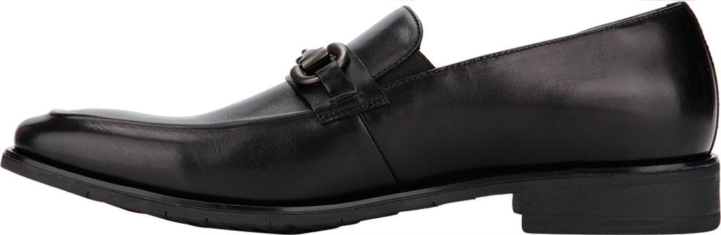 Men's Kenneth Cole Reaction Relay Flex Bit Loafer, Black Leather, large, image 3