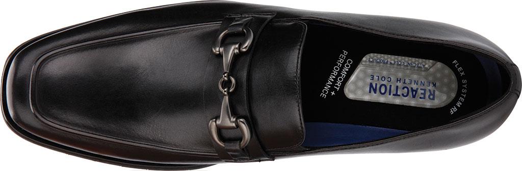 Men's Kenneth Cole Reaction Relay Flex Bit Loafer, Black Leather, large, image 5