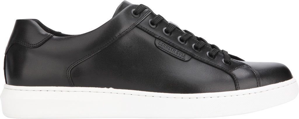 Men's Kenneth Cole New York Liam Sneaker, Black Leather, large, image 2