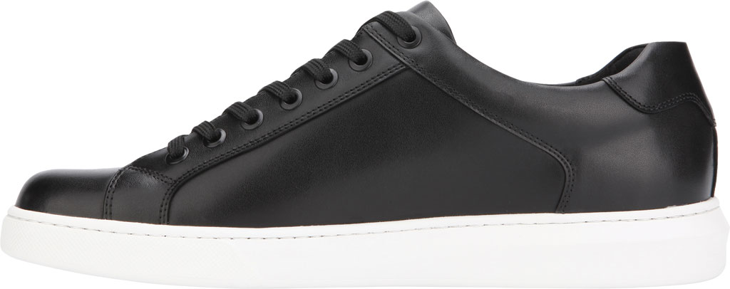 Men's Kenneth Cole New York Liam Sneaker, Black Leather, large, image 3