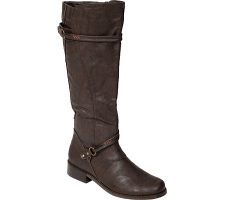 Women's Journee Collection Harley, Brown, large, image 1