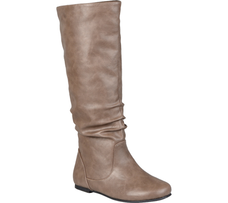 Women's Journee Collection Jayne, Taupe, large, image 1