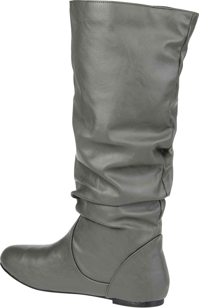 Women's Journee Collection Jayne, Taupe, large, image 4