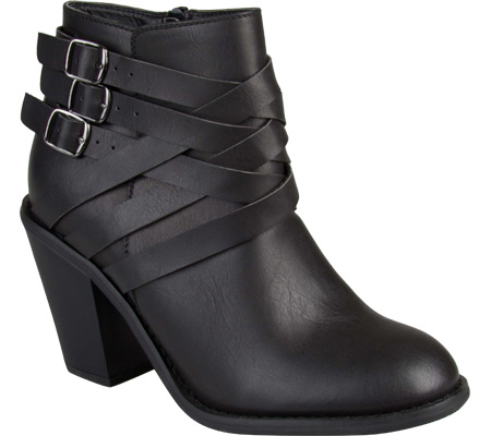 Women's Journee Collection Strap Multi Strap Ankle Boot, , large, image 1