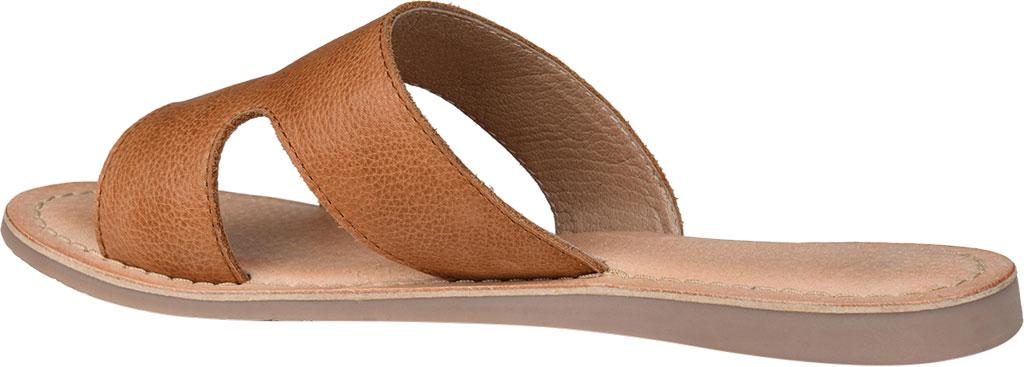 Women's Journee Collection Walker Flat Slide, Tan Leather, large, image 4