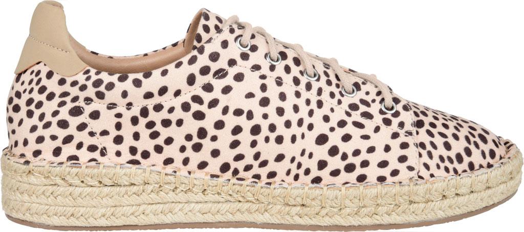 Women's Journee Collection Jordi Espadrille Sneaker, Leopard Faux Suede, large, image 2