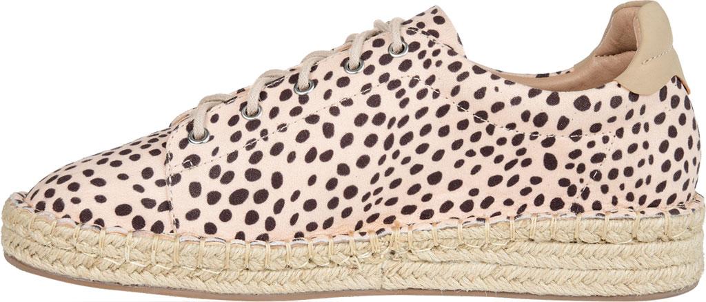 Women's Journee Collection Jordi Espadrille Sneaker, Leopard Faux Suede, large, image 3