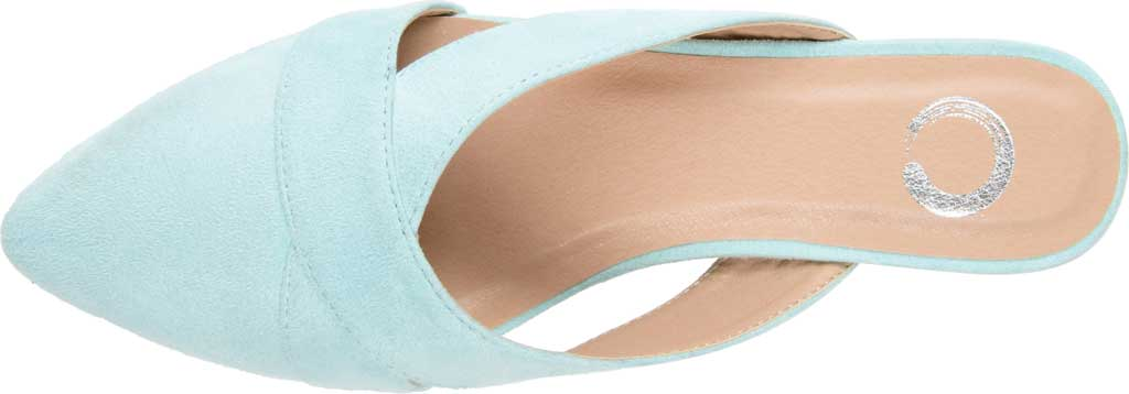 Women's Journee Collection Giada Mule, Mint Faux Suede, large, image 5